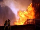 California Wildfire Destroys At Least One Home