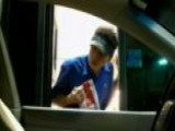 Car Seat Costume Pranks Drive-thru Workers