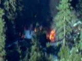 Cabin In Dorner Standoff 'fully Engulfed' In Flames