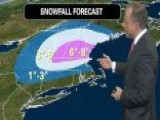 Cross-country Winter Storm Bears Down On New England