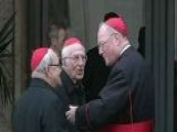College Of Cardinals Assembles Last Cardinal Arrives