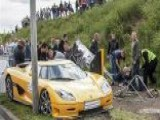 Car Crashes Into Spectators At Show In Poland