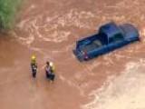 Cleanup Following Heavy Rain, Flooding Near Phoenix
