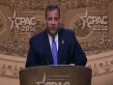 Chris Christie Receives Standing Ovation At CPAC