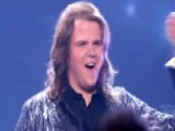 Caleb Johnson Rocks Out With His Fans