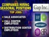 Companies Hiring Big For The Holidays
