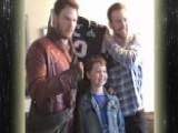 Chris Pratt Makes Good On Super Bowl Bet
