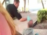Cop Shoves Homeless Man To Ground, Slaps Him In Face