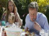 Cameron Criticized For Eating Hot Dog With Fork And Knife