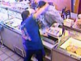 Clerk Punches, Chases Robber