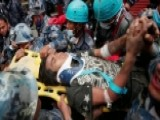 Crews Pull 18-year-old Survivor From Rubble Of Nepal Quake
