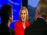 Carly Fiorina Discusses Key Issues In The 2016 Election