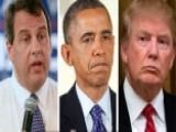 Christie Takes Aim At Obama, Dismisses Trump Questions