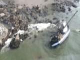 Coast Guardsman Swims One Mile To Save Four Fishermen