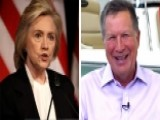 Clinton Campaign Worried About Kasich Candidacy?