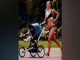 Controversy Over Bikini-clad Model In Stroller Ad