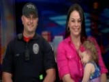Caught On Camera: Police Officer Saves Choking Toddler