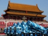 China Holds Huge Military Parade In Beijing