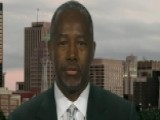 Carson Doubles Down On Muslim In The White House Question