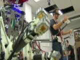 Check It Out: Biped Robot Mimics Actions Of Human Operator