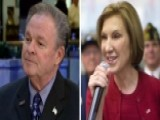 Carly Fiorina's Husband Calls Low Poll Numbers 'baffling'