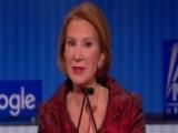 Carly Fiorina Defends 'tough Calls' At HP
