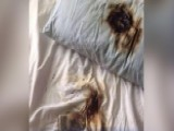 Cell Phone Catches Fire Under Pillow In New York