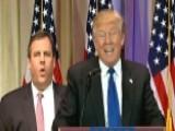 Christie Doesn't Appreciate Trump Mentioning Jobs Leaving NJ
