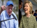 Clinton, Sanders Campaign After Debate In Florida