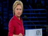 Clinton To AIPAC: Israel's Security Is Non-negotiable