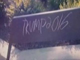College Students Frightened By 'Trump 2016' Campus Graffiti