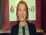 Carly Fiorina: Cruz Could Win Big In Wisconsin