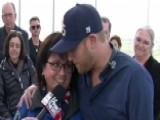 Cole Swindell Meets With Men, Women Who Lived Through 9 11