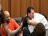 Chaos In Courtroom: Victim's Father Lunges At Serial Killer