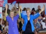 Clinton And Warren Hit The Campaign Trail Together In Ohio