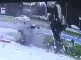 Car Flips Over A Dozen Times In Frightening Accident