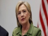 Clinton To Meet With 8 Top US Law Enforcement Leaders