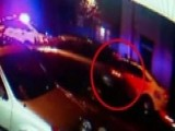 Caught On Camera: Philadelphia Cop Hit By Car