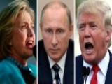 Clinton And Trump Spar Over Russian Relations