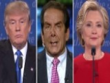 Charles Krauthammer: Clinton, Trump Fight To A Draw