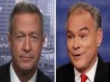 Clinton Surrogate O'Malley Talks Kaine's Debate Performance