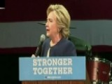 Clinton Raises Millions Of Dollars During West Coast Visit