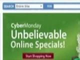 Cyber Monday Arrives After Huge Internet Sales Over Weekend