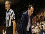 Coach K Bans Duke From Locker Ro 00004000 Om, Forbids Wearing Apparel