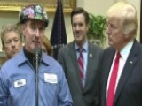Coal Miner Thanks President Trump For Removing Regulations