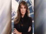Critics Pounce On Melania Trump's White House Portrait