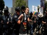 Cops Attacked In Violent May Day Protests