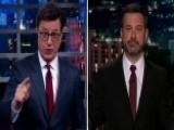 Colbert, Kimmel Pummel Trump