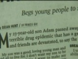 Candid Obituaries Act As Reminder Of Ongoing Opioid Crisis