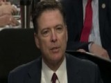 Comey Says He Took Memos Because Trump Couldn't Be Trusted